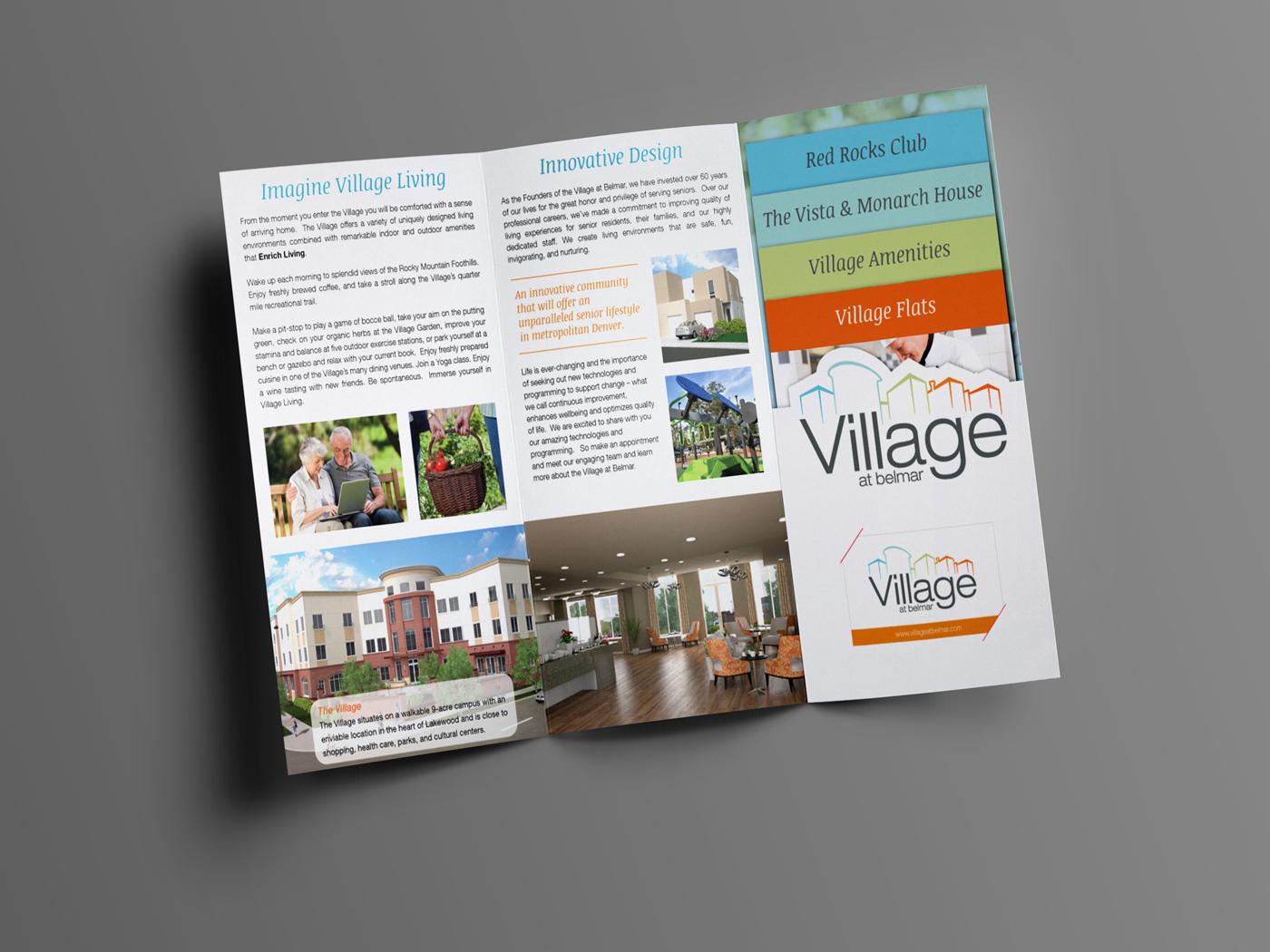 Brochure Design for Village at Belmar