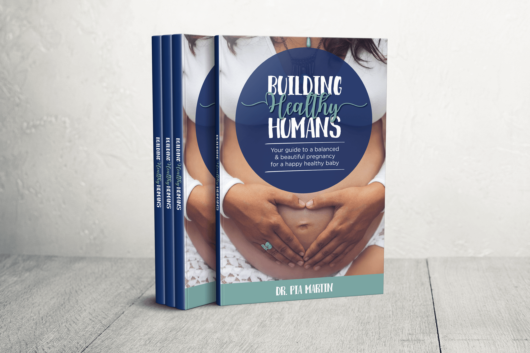 Book Cover Design for Building Healthy Humans